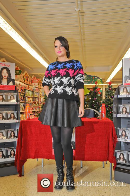 Tulisa Contostavlos, The Female Boss, Tesco Xtra and Swann Shopping 2