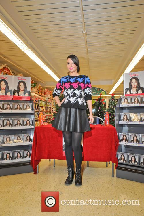 Tulisa Contostavlos, The Female Boss, Tesco Xtra and Swann Shopping 11