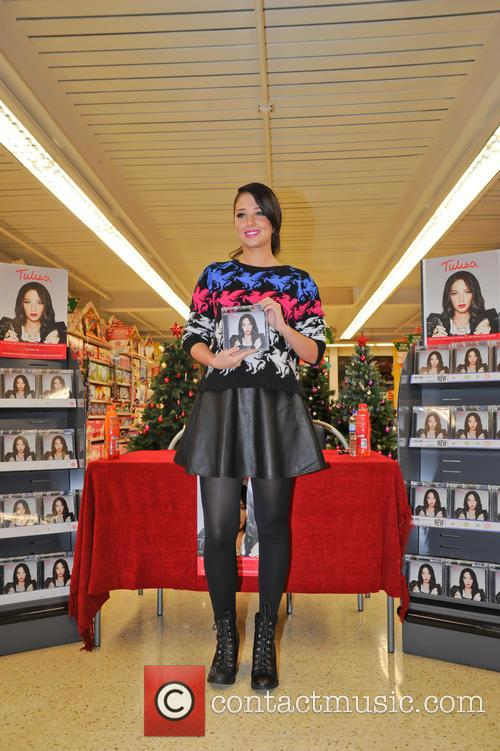 Tulisa Contostavlos, The Female Boss, Tesco Xtra and Swann Shopping 5
