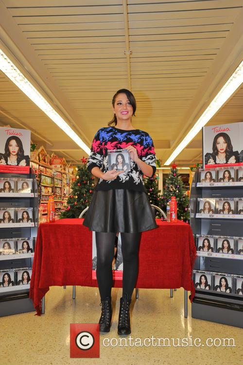 Tulisa Contostavlos, The Female Boss, Tesco Xtra and Swann Shopping 17