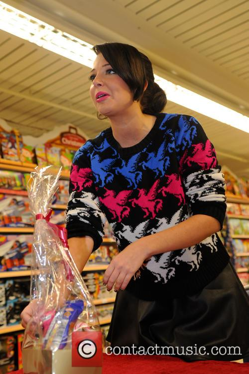 Tulisa Contostavlos, The Female Boss, Tesco Xtra and Swann Shopping 16