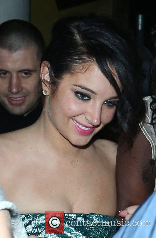 Tulisa Contostavlos and Aura Nightclub 9