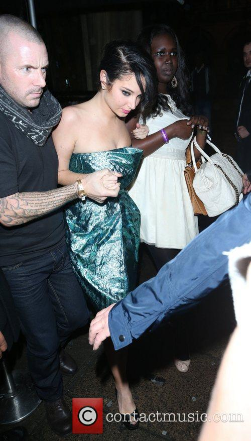 Tulisa Contostavlos and Aura Nightclub 2