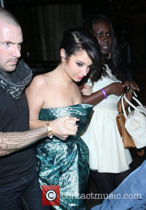 Tulisa Contostavlos and Aura Nightclub 6