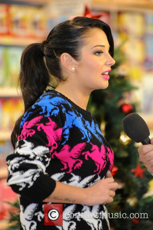 Tulisa Contostavlos, The Female Boss, Tesco Xtra and Swann Shopping 20