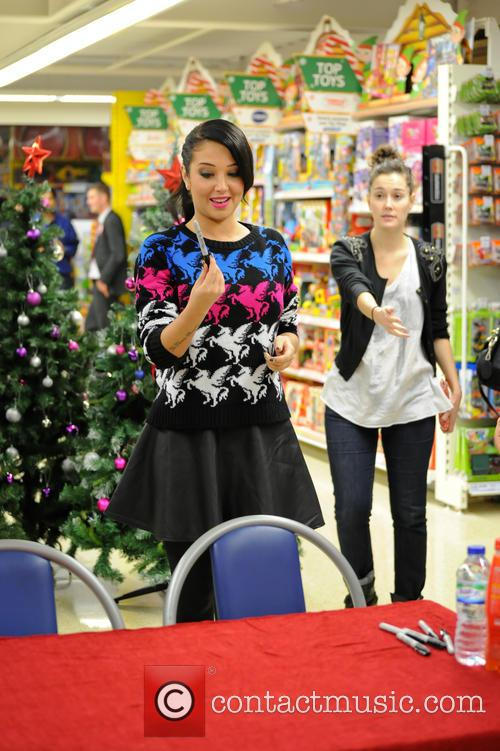 Tulisa Contostavlos, The Female Boss, Tesco Xtra and Swann Shopping 24
