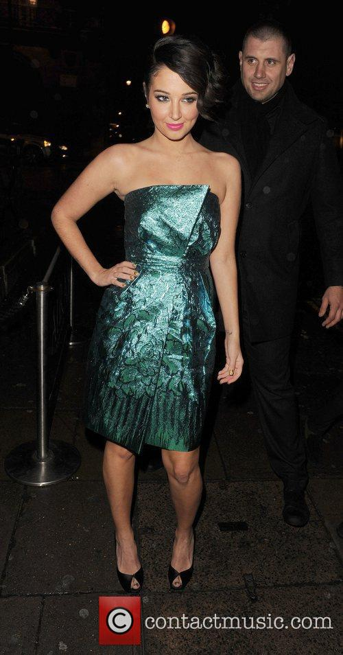 Tulisa Contostavlos and Aura Nightclub 7