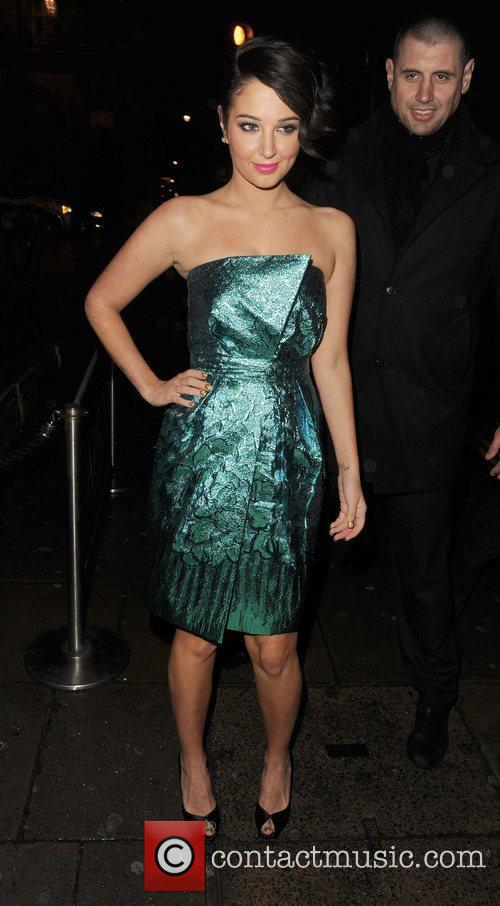 Tulisa Contostavlos and Aura Nightclub 5