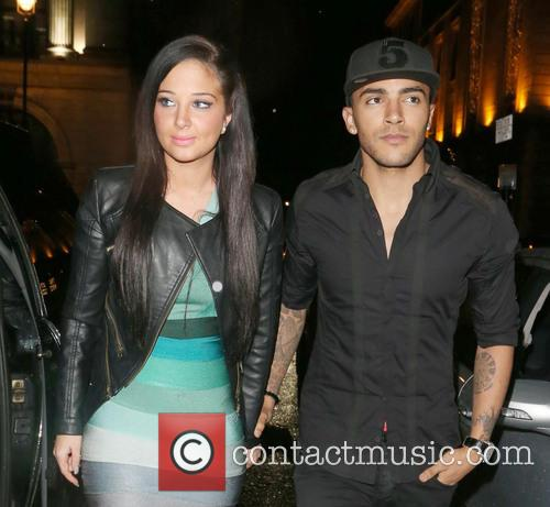 Tulisa Contostavlos and Danny Simpson 10