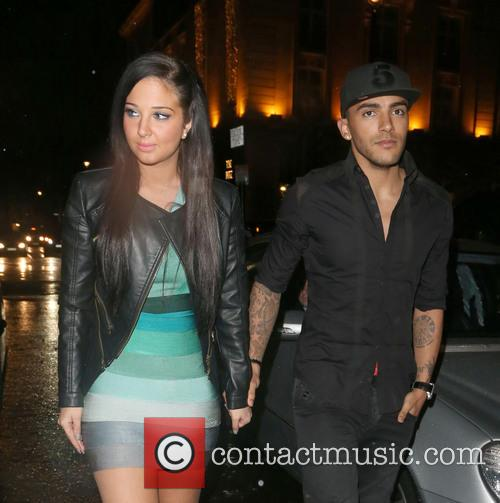 Tulisa Contostavlos and Danny Simpson 3
