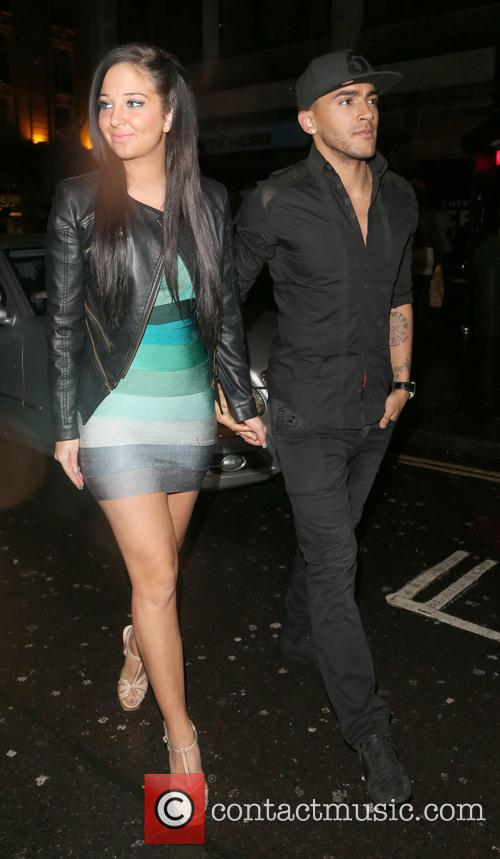 Tulisa Contostavlos and Danny Simpson 7