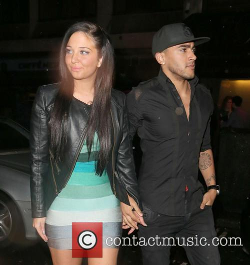 Tulisa Contostavlos and Danny Simpson 11
