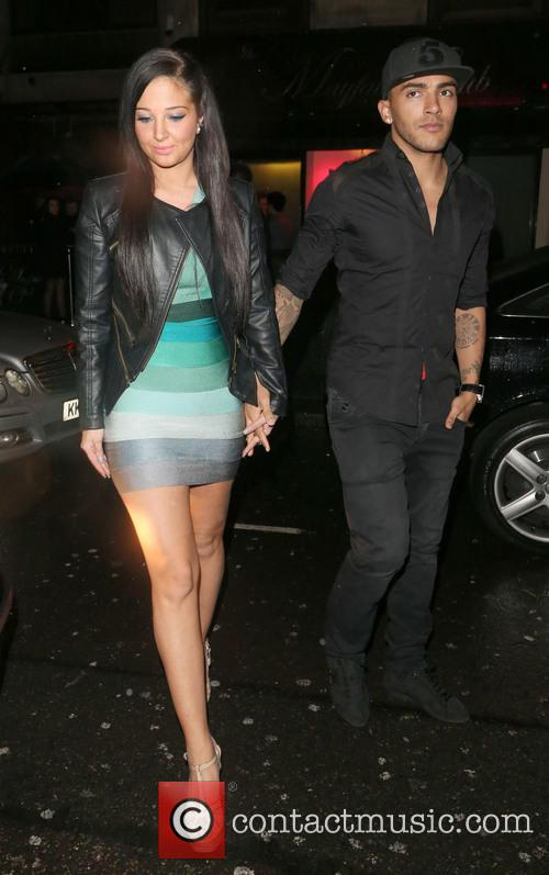 Tulisa Contostavlos and Danny Simpson 1