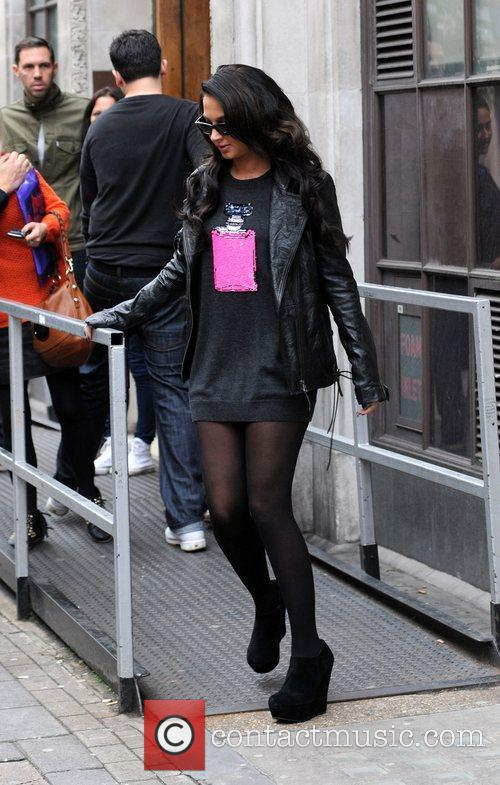 tulisa contostavlos leaving radio 1 london england 4132542