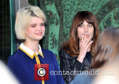 Pixie Geldof and Alexa Chung The Tunnel of...