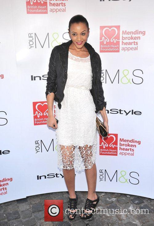 Amal Fashanu The Tunnel of Love 2012 held...
