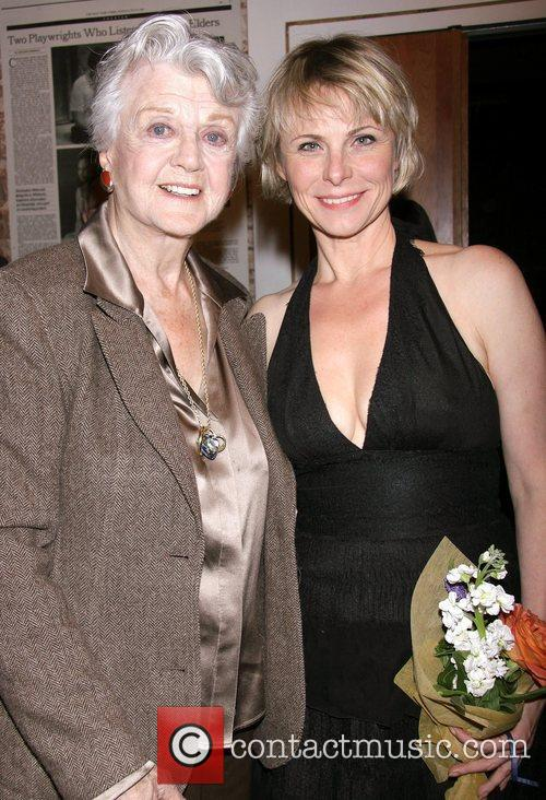 Angela Lansbury and Angelica Page Opening night of...