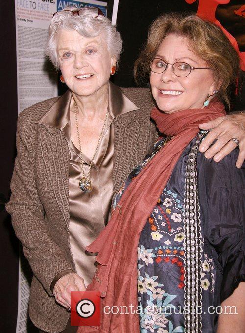 Angela Lansbury and Elizabeth Ashley Opening night of...
