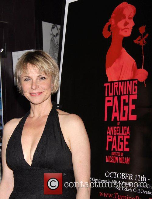 Angelica Page Opening night of the new play...