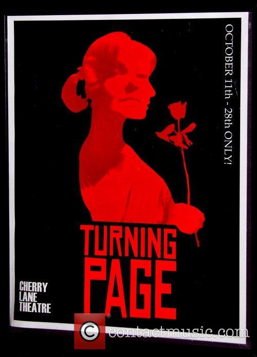 Opening night of the new play 'Turning Page'...