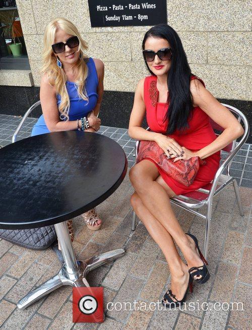 Roz Flanagan, Virginia Macari TV3 Autumn Schedule launch...