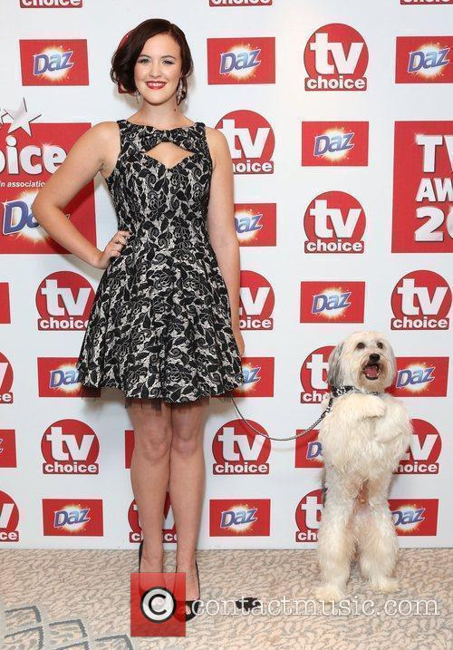 Ashleigh and Pudsey The TVChoice Awards 2012 held...