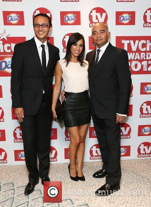Chris Bisson, Fiona Wade and Bhasker Patel The...