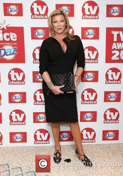 Claire King The TVChoice Awards 2012 held at...