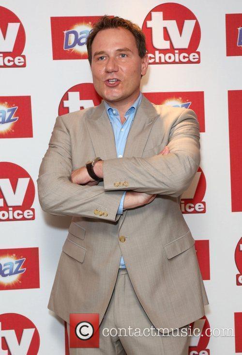 Richard Arnold The TVChoice Awards 2012 held at...