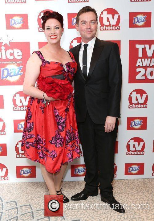 Sharon Marshall and Stephen Mulhern The TVChoice Awards...