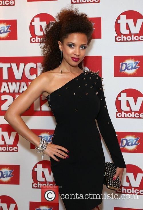 Natalie Gumede The TVChoice Awards 2012 held at...