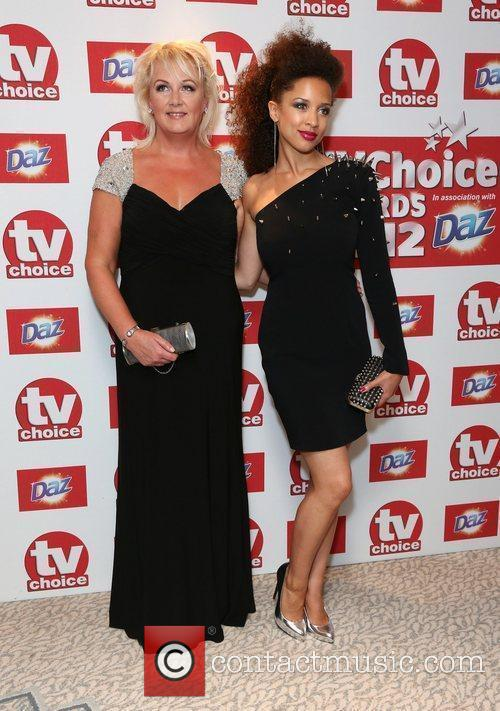 Sue Cleaver and Natalie Gumede The TVChoice Awards...