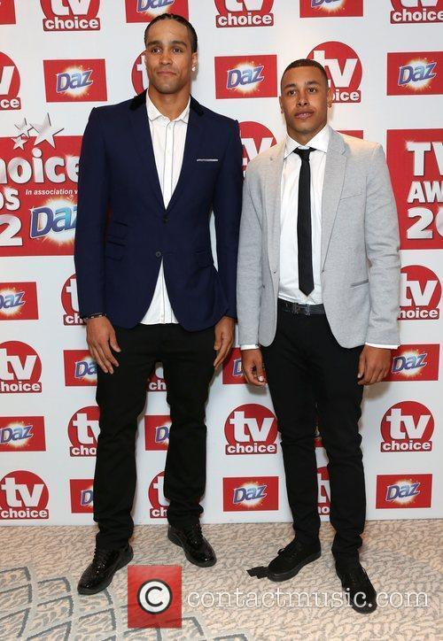 Guests The TVChoice Awards 2012 held at the...