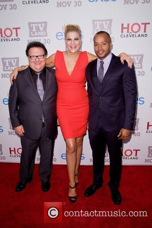 Wayne Knight, Donald Faison and Kristen Johnston 2