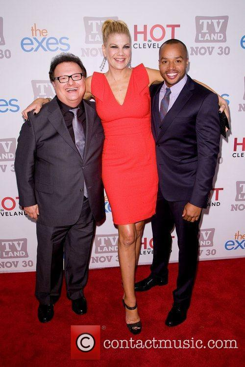 Wayne Knight, Donald Faison and Kristen Johnston 1