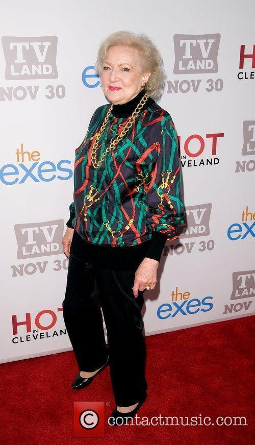 Betty White  TV Land holiday premiere party...