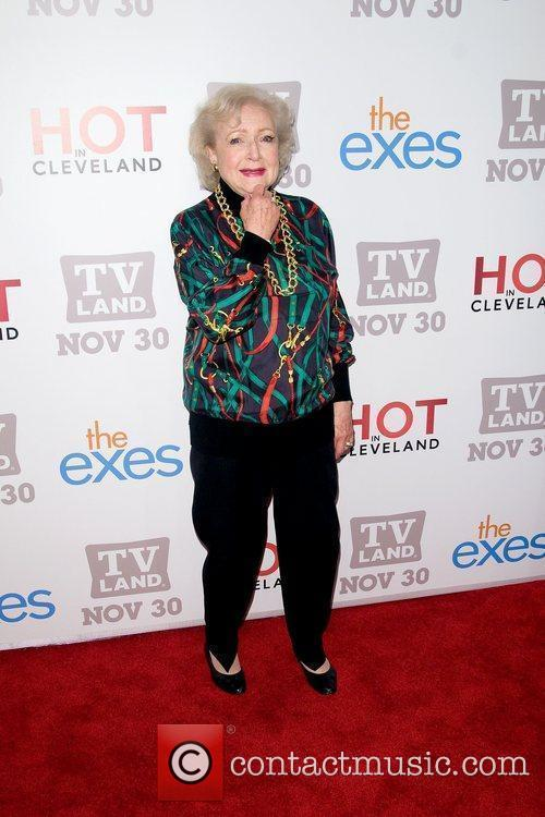 Betty White TV Land holiday premiere party for...