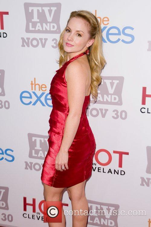 Kelly Stables TV Land holiday premiere party for...