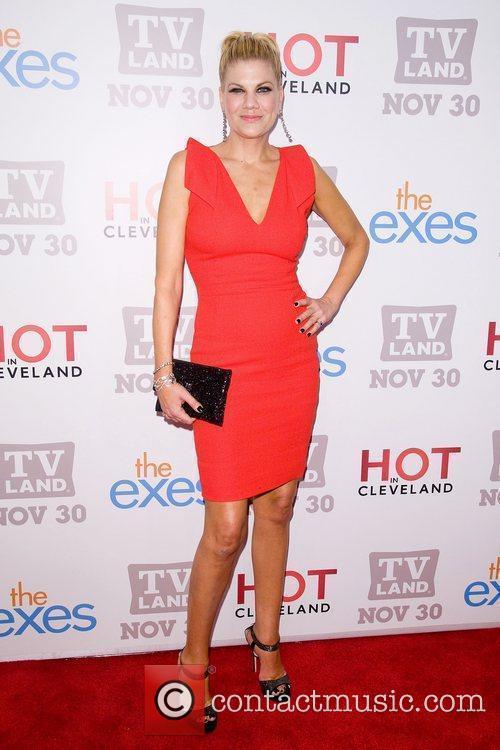 Kristen Johnson  TV Land holiday premiere party...