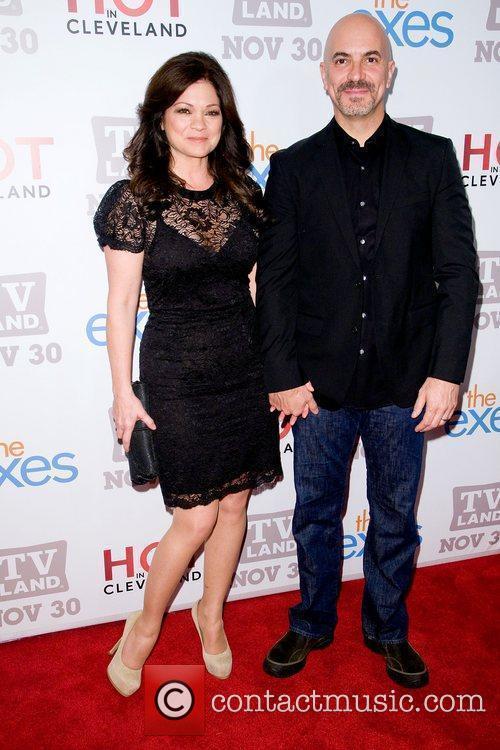 Valerie Bertinelli and Tom Vitale TV Land holiday...