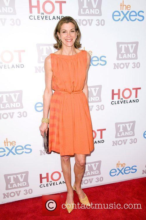 Wendie Malick TV Land holiday premiere party for...