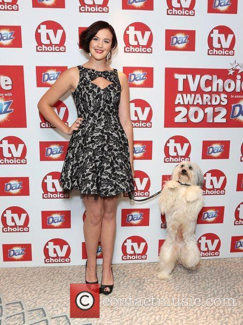 Ashley and Pudsley The TVChoice Awards 2012 held...