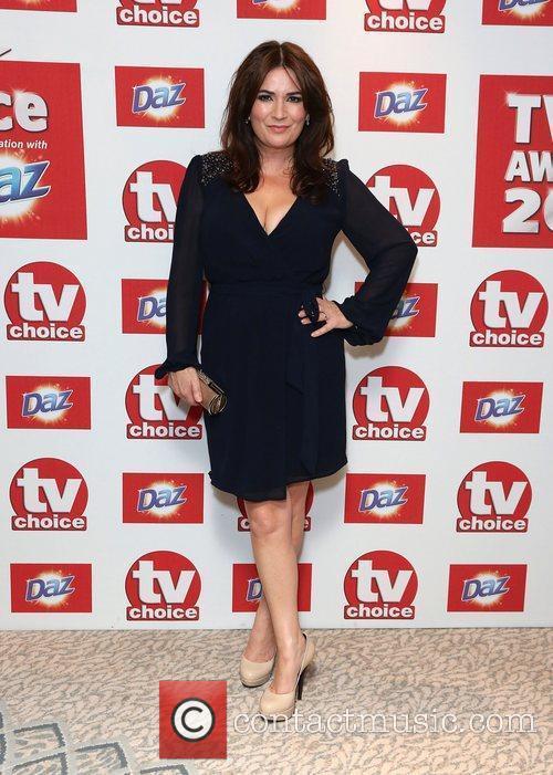 Debbie Rush The TVChoice Awards 2012 held at...