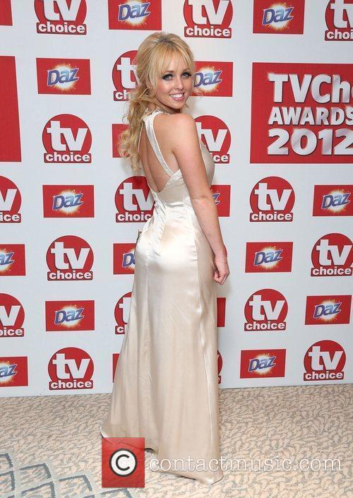 Jorgie Porter The TVChoice Awards 2012 held at...