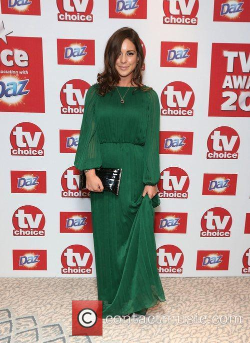 Louise Thompson The TVChoice Awards 2012 held at...