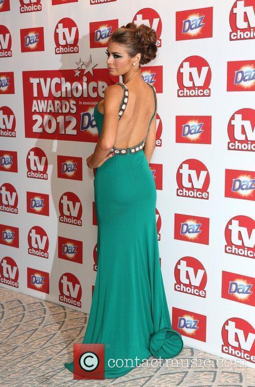 Chloe Simms The TVChoice Awards 2012 held at...