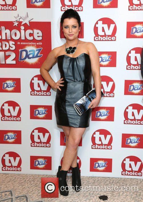 Shona McGarty The TVChoice Awards 2012 held at...