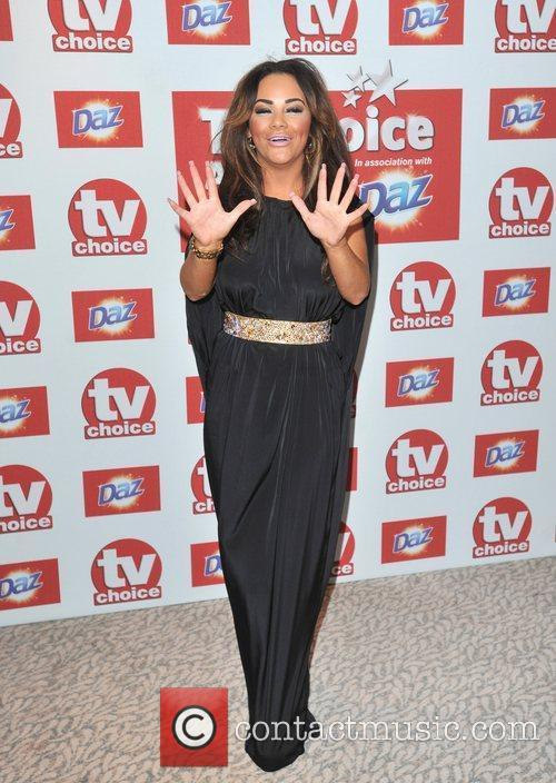 Chelsee Healey The 2012 TVChoice Awards held at...