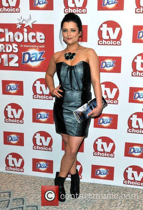 Shona McGarty The 2012 TVChoice Awards held at...