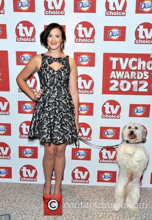 Ashleigh Butler and Pudsey The 2012 TVChoice Awards...